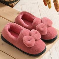 小晋家 女士保暖棉拖鞋 YM070 3色可选
