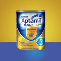 Aptamil 爱他美 金装 婴幼儿奶粉 3段 900g*4罐