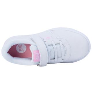 361° 女童革面休闲运动鞋 K89430051 本白