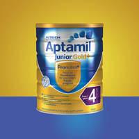 Aptamil 爱他美 金装 婴幼儿奶粉 4段 900g*4罐