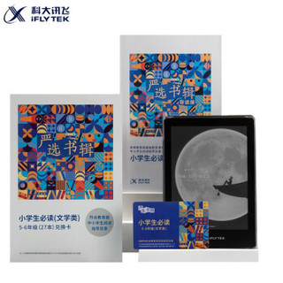 科大讯飞×咪咕 电子书阅读器R1 墨水屏电纸书 智能电子纸阅读器 24级阅读灯 6英寸 5-6年级小书虫套装