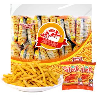 咪咪虾条360g爱尚好吃膨化薯片大礼包网红休闲怀旧凑单小吃零食