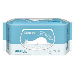 Kleenex 舒洁 湿厕纸 80片 清洁湿纸巾湿巾 可搭配卷纸卫生纸使用