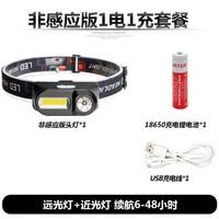 E-SMARTER 头灯强光充电 锂电池头戴式照明灯