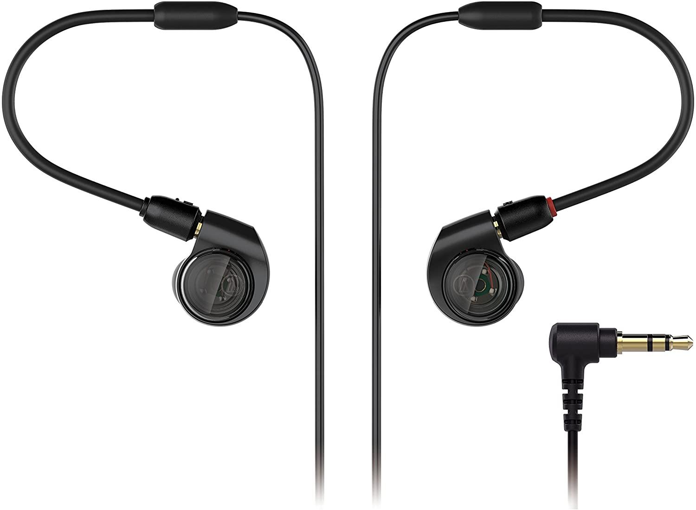 audio-technica 铁三角 ATH-E40 入耳式耳机 黑色