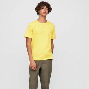 UNIQLO 422990 SUPIMA COTTON 圆领短袖T恤