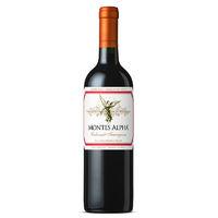 百亿补贴:MONTES 蒙特斯 智利原瓶进口葡萄酒红酒 750ml