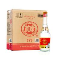 白水杜康 52度浓香型白酒 450ml*6瓶