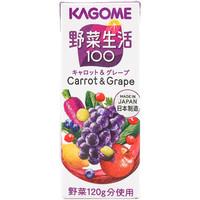 kagome 可果美 混合果蔬汁 200ml*12盒