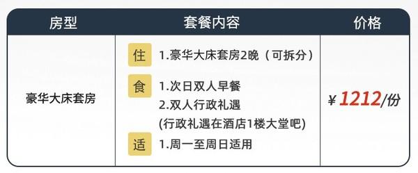 周末节假日可用!上海虹桥锦江大酒店 豪华套房2晚(含双早+双人行政礼遇)