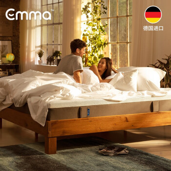 Emma 慢回弹零压记忆棉床垫 180*200*25cm