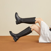 SENDA 森达 V8SZ8068RU1DG0 女士加绒款长筒靴 *2件