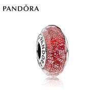Pandora潘多拉925银切割面串饰吊坠-791654