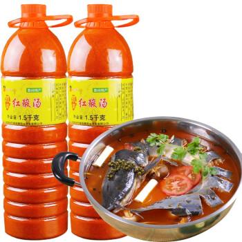 酿三月 酸汤底料大瓶装 1.5kg*2瓶