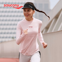 Saucony 索康尼 W Sta Comp LS 380028110266 女士长袖针织衫