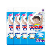 考拉海购黑卡会员:GOO.N 大王 维E系列 婴儿纸尿裤 XL42片 4包装