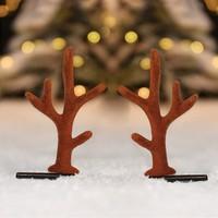 黎维娜 LWN-1733-FG 圣诞发夹鹿角夹子 2色可选