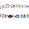 Blue Nile  55615 小巧椭圆形多色宝石手链