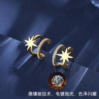 KRISTEN JUDI S925银针星星耳环(S925银针耳环一对)