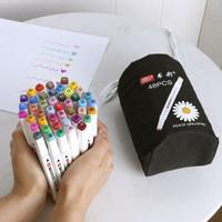 移动专享:KOWELL 马克笔双头彩色笔绘画笔48色