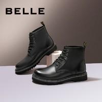 京东PLUS会员:BeLLE 百丽 92729DD0  男鞋马丁靴子