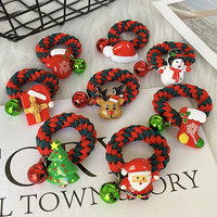 移动专享:vieruodis 甜甜圈圣诞老人图案发圈 2根装