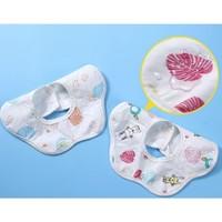 乐雨 婴儿口水巾 3条装
