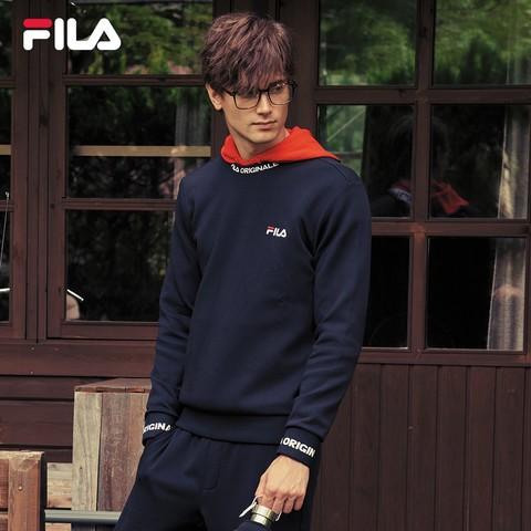FILA 斐乐 F61M038209A 男子运动卫衣