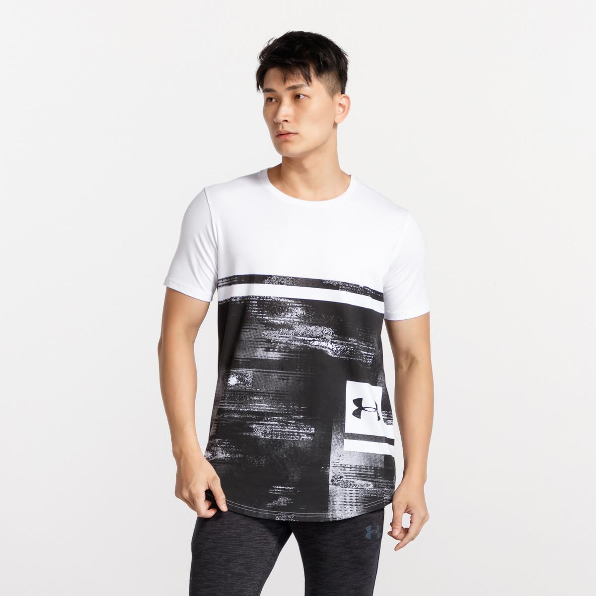 限尺码 : UNDER ARMOUR 安德玛 1318568 男士印花短袖T恤