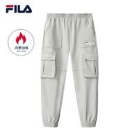 FILA 斐乐 F51M048641F 男士工装裤