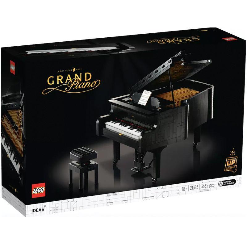 百亿补贴 : LEGO 乐高 IDEAS系列 21323 可弹奏钢琴