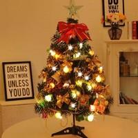 虔生缘 圣诞树套餐 60厘米套餐+普通水果灯+圣诞帽