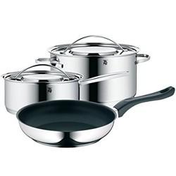 预售、考拉海购黑卡会员 : WMF 福腾宝 Gala Plus 0711156040 不锈钢厨房锅具 3件套