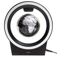 deli 得力 2223 4寸创意磁悬浮地球仪 黑色