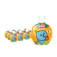 限地区:Minute Maid 美汁源  酷儿 Qoo 橙味 果汁饮料球形瓶 260ml*12瓶  *2件