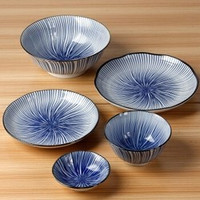 MinoYaki 美浓烧 陶瓷餐具套装 十草 10头 *2件