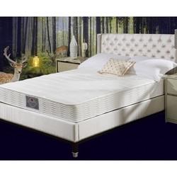 富安娜(FUANNA)床垫 厚 1.8m双人弹簧床垫 偏硬款 整网精钢6环护脊弹簧床垫 邦尼尔弹簧22厘米厚 150*190cm