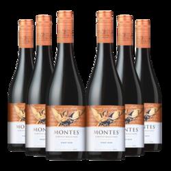 montes 蒙特斯  精选黑皮诺干红葡萄酒 750ml*6支