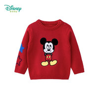 Disney 迪士尼 儿童纯棉针织衫