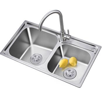 Larsd 莱尔诗丹 LR7642 304不锈钢水槽+龙头