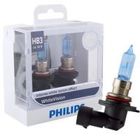 飞利浦(PHILIPS)璀璨之光HB3(9005)升级型灯泡卤素灯2支装 时尚白光4300K *2件