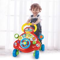 VTech伟易达宝宝学步车手推车防侧翻学走路助步车多功能婴儿玩具(提前加购)