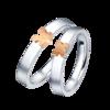 Chow Sang Sang 周生生 Love Décodé「爱情密语」系列 90971R 中性18K金拼图戒指