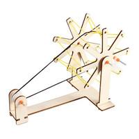 移动专享:乐加酷 自制手摇纺线车