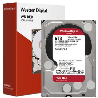 Western Digital 西部数据 WD60EFRX NAS台式机硬盘 6TB
