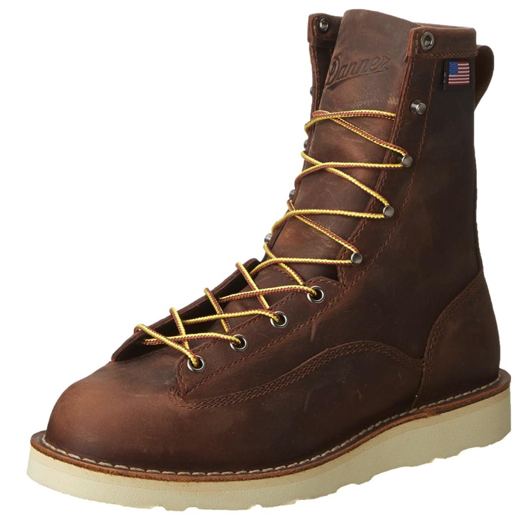 品质好东西 : Danner Bull Run 8英寸 男士工装靴