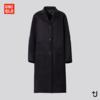 UNIQLO 优衣库 x Jil Sander(+J)联名 435936 羊毛混纺大衣