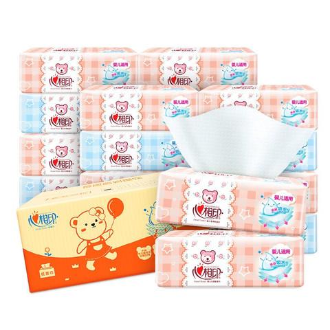 88VIP:心相印 婴儿系列 抽纸 3层*120抽*18包 (188mm*210mm) *2件