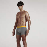 60S青春系列男士棉莫舒适平角内裤 单条装  *3件
