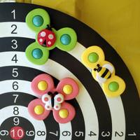 KIDNOAM 宝宝指尖陀螺 昆虫转转乐(1盒3个装)
